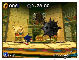 Sonic Rush (DS)  Archiv - Screenshots - Bild 19