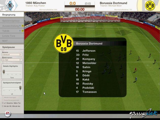 Fussball Manager 06  Archiv - Screenshots - Bild 4