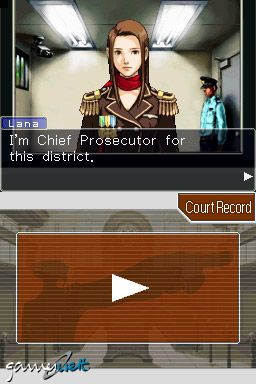 Phoenix Wright: Ace Attorney (DS)  Archiv - Screenshots - Bild 18