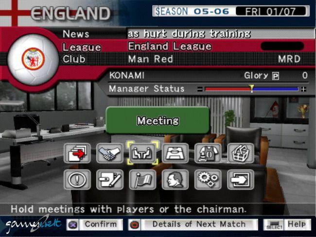 Pro Evolution Soccer Management  Archiv - Screenshots - Bild 15