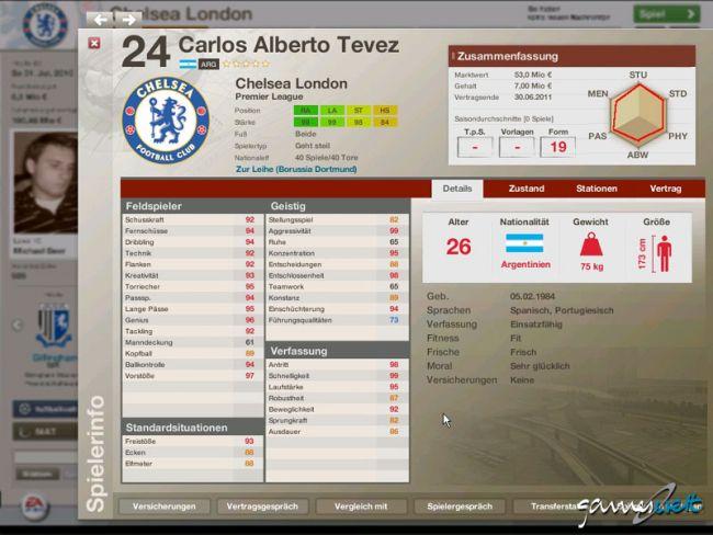 Fussball Manager 06  Archiv - Screenshots - Bild 11