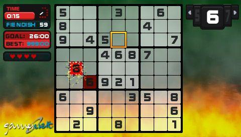 Go! Sudoku (PSP)  Archiv - Screenshots - Bild 9
