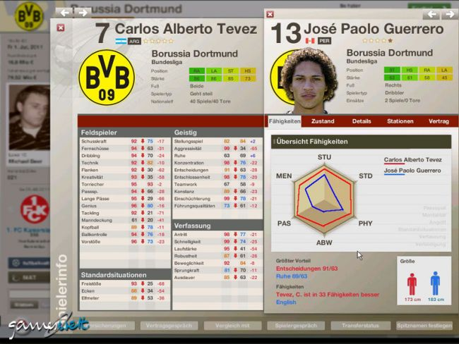 Fussball Manager 06  Archiv - Screenshots - Bild 7