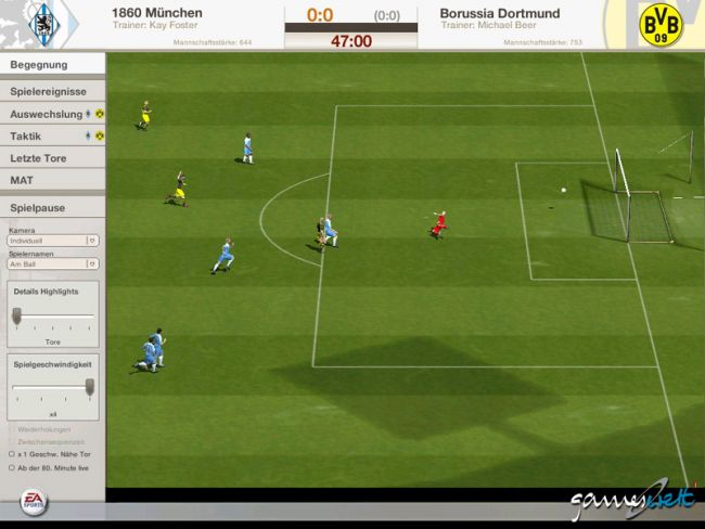 Fussball Manager 06  Archiv - Screenshots - Bild 12