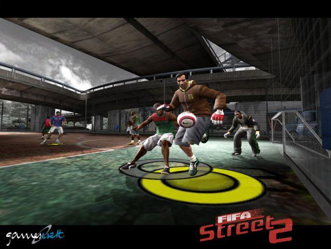 FIFA Street 2  Archiv - Screenshots - Bild 2