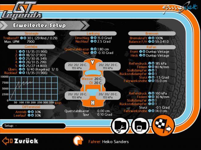 GT Legends  Archiv - Screenshots - Bild 7