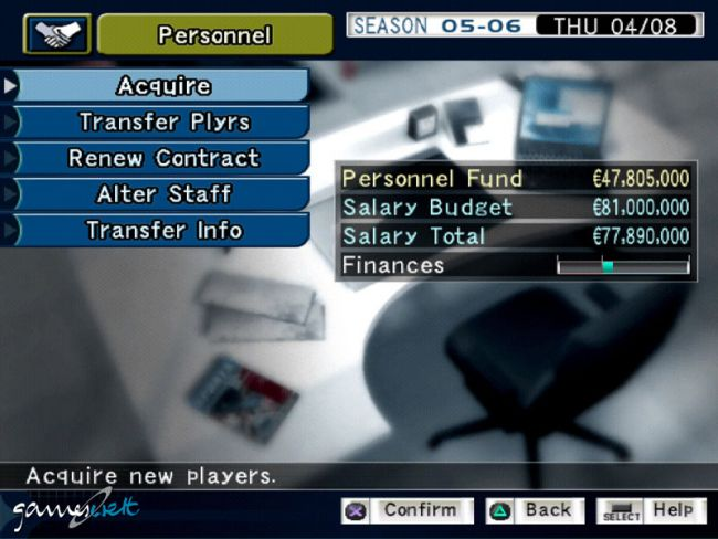 Pro Evolution Soccer Management  Archiv - Screenshots - Bild 20