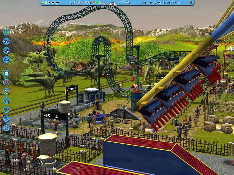 rollercoaster tycoon 4. Rollercoaster Tycoon 3 liegt