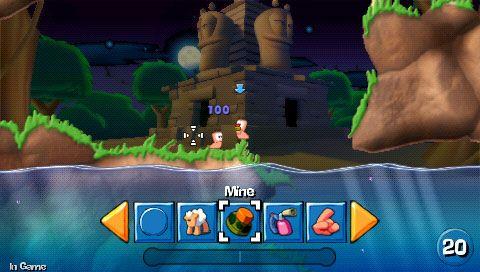 Worms: Open Warfare (PSP)  Archiv - Screenshots - Bild 17