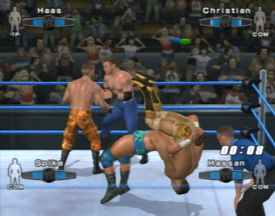 WWE SmackDown! vs. RAW 2006  Archiv - Screenshots - Bild 8