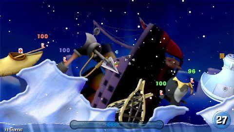 Worms: Open Warfare (PSP)  Archiv - Screenshots - Bild 16
