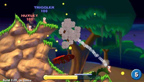 Worms: Open Warfare (PSP)  Archiv - Screenshots - Bild 21