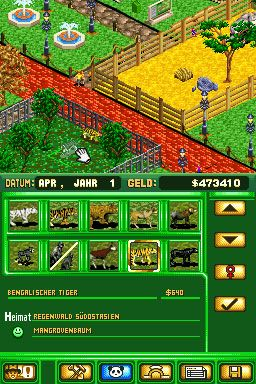 Zoo Tycoon DS (DS)  Archiv - Screenshots - Bild 9