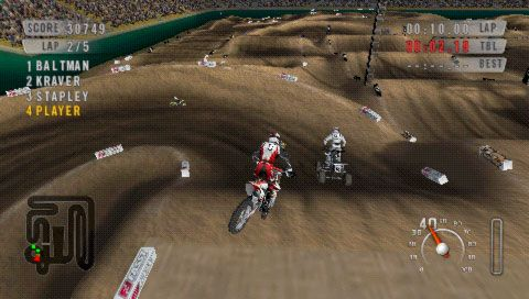 MX vs. ATV: On the Edge (PSP)  Archiv - Screenshots - Bild 12