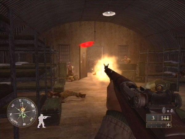 Call of Duty 2: Big Red One  Archiv - Screenshots - Bild 5