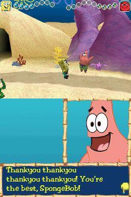 Spongebob Schwammkopf: Der gelbe Rächer (DS)  Archiv - Screenshots - Bild 2