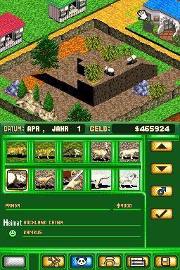 Zoo Tycoon DS (DS)  Archiv - Screenshots - Bild 6