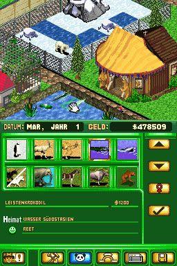 Zoo Tycoon DS (DS)  Archiv - Screenshots - Bild 7