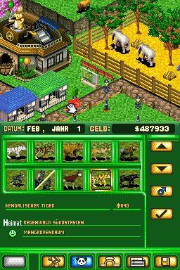 Zoo Tycoon DS (DS)  Archiv - Screenshots - Bild 5
