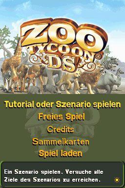 Zoo Tycoon DS (DS)  Archiv - Screenshots - Bild 4