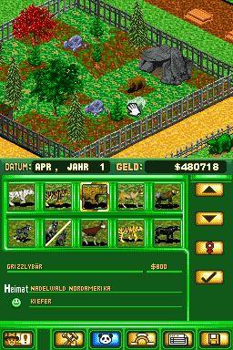 Zoo Tycoon DS (DS)  Archiv - Screenshots - Bild 8