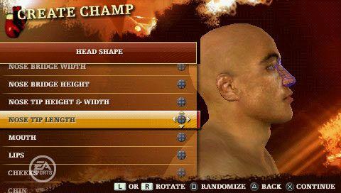 Fight Night Round 3 (PSP)  Archiv - Screenshots - Bild 3