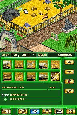Zoo Tycoon DS (DS)  Archiv - Screenshots - Bild 11
