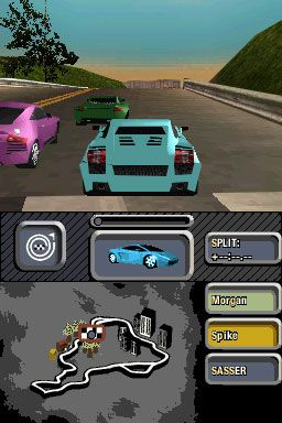 Need for Speed: Most Wanted (DS)  Archiv - Screenshots - Bild 4