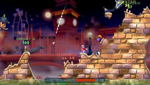 Worms: Open Warfare (PSP)  Archiv - Screenshots - Bild 11