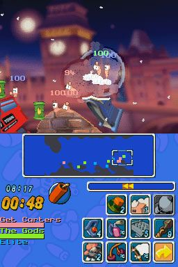 Worms: Open Warfare (DS)  Archiv - Screenshots - Bild 14