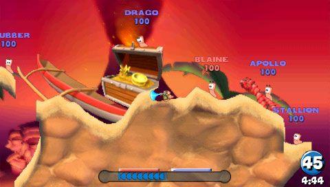 Worms: Open Warfare (PSP)  Archiv - Screenshots - Bild 6