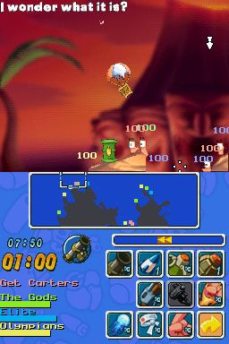 Worms: Open Warfare (DS)  Archiv - Screenshots - Bild 6