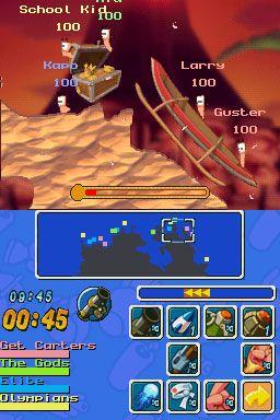 Worms: Open Warfare (DS)  Archiv - Screenshots - Bild 15