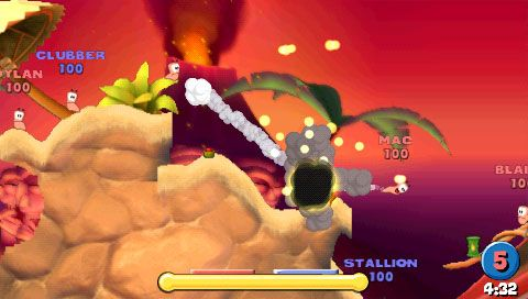 Worms: Open Warfare (PSP)  Archiv - Screenshots - Bild 7