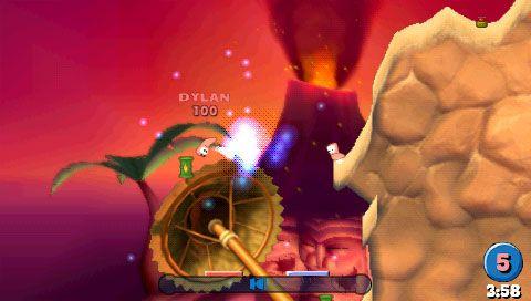 Worms: Open Warfare (PSP)  Archiv - Screenshots - Bild 9