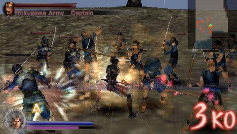 Samurai Warriors: State of War (PSP)  Archiv - Screenshots - Bild 15