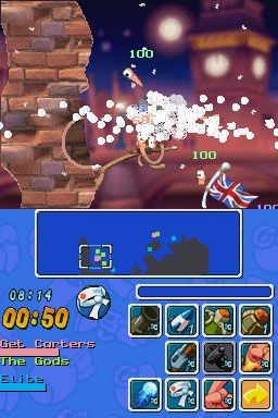 Worms: Open Warfare (DS)  Archiv - Screenshots - Bild 7