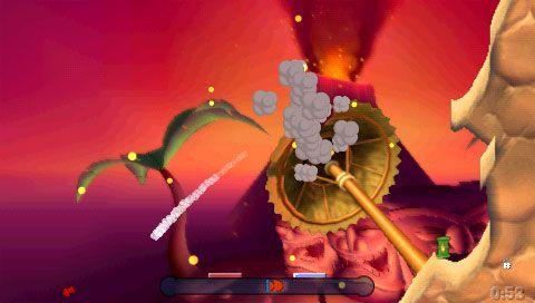 Worms: Open Warfare (PSP)  Archiv - Screenshots - Bild 5