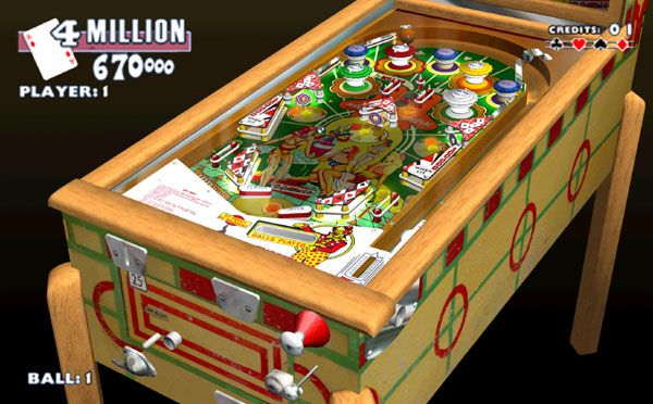 Gottlieb Pinball Classics (PSP)  Archiv - Screenshots - Bild 3