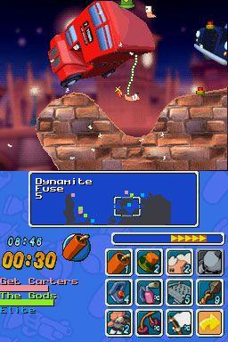 Worms: Open Warfare (DS)  Archiv - Screenshots - Bild 8