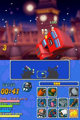 Worms: Open Warfare (DS)  Archiv - Screenshots - Bild 10