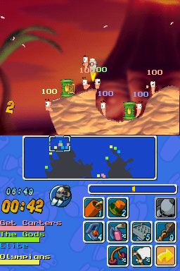 Worms: Open Warfare (DS)  Archiv - Screenshots - Bild 9