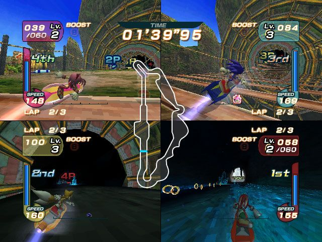 Sonic Riders  Archiv - Screenshots - Bild 6