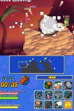 Worms: Open Warfare (DS)  Archiv - Screenshots - Bild 5