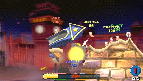 Worms: Open Warfare (PSP)  Archiv - Screenshots - Bild 10