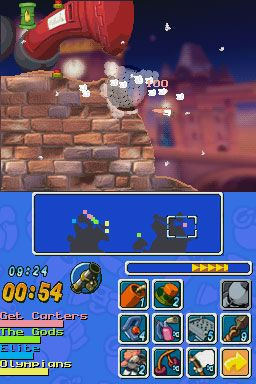 Worms: Open Warfare (DS)  Archiv - Screenshots - Bild 16