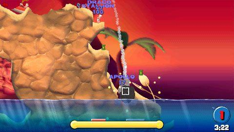 Worms: Open Warfare (PSP)  Archiv - Screenshots - Bild 13
