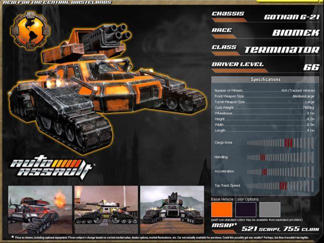 Auto Assault  Archiv - Screenshots - Bild 12