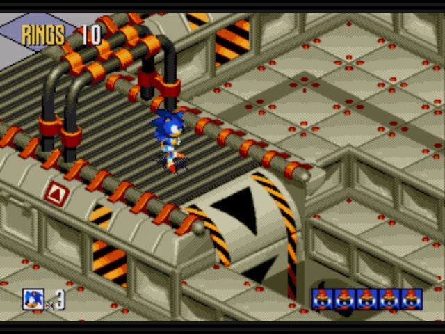 Sonic Mega Collection Plus  Archiv - Screenshots - Bild 9