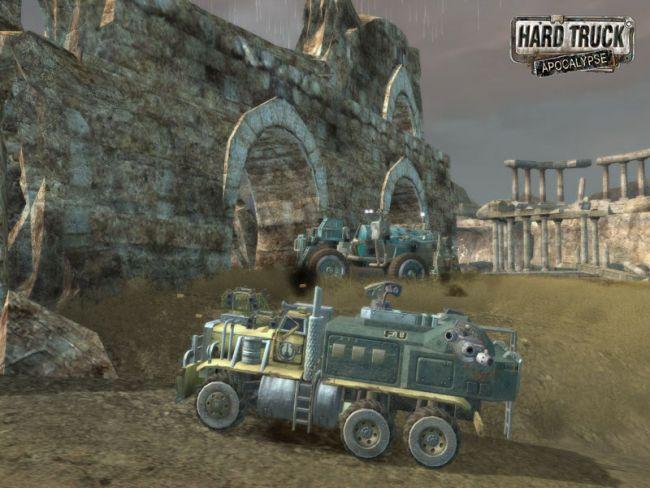 1333. Добавил. UkraineGS. Hard Truck Apocalypse - Ex Mashina.